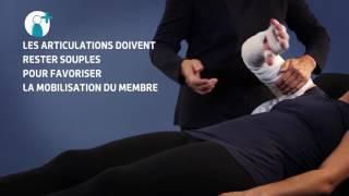 Thuasne - Bandes Mobiderm membre supérieur - Technique de bandage réducteur d'un lymphoedème