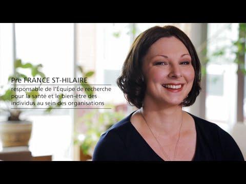 L'Équipe De Recherche Pour La Santé Et Le Bien-être Des Individus Au Sein Des Organisations