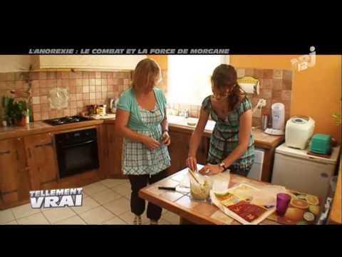 TELLEMENT VRAI - L' ANOREXIE : LE COMBAT ET LA FORCE DE MORGANE