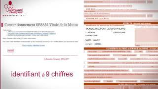 Sesam-Vitale : modification infos personnelles