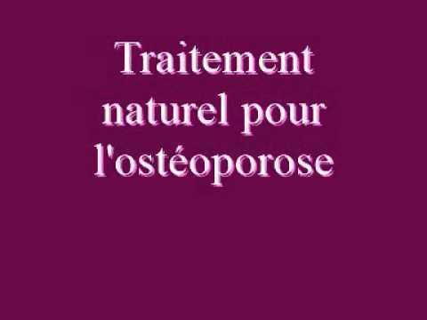Traitement Naturel Pour L'ostéoporose