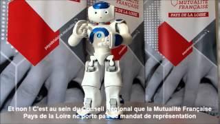 Mutualité Française en Pays de la Loire avec le robot NAO