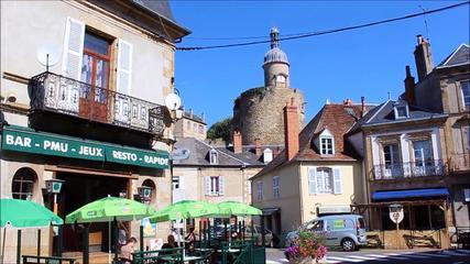 Berceau De La Première Maison De Bourbon, Bourbon-l'Archambault, Cité Médiévale Touristique Et Stati
