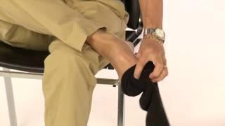 Mettre les chaussettes- Hémiplégique
