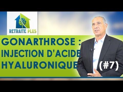 Gonarthrose : Injection D'acide Hyaluronique - Conseils Retraite Plus