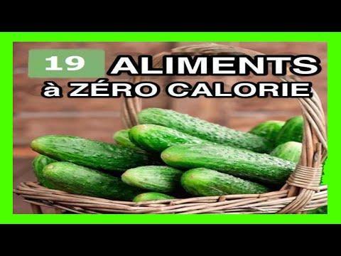 19 Aliments à ZERO Calorie Pour Vous Aider à Perdre Du Poids