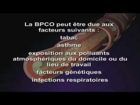 BPCO (broncho-pneumopathie Chronique Obstructive)