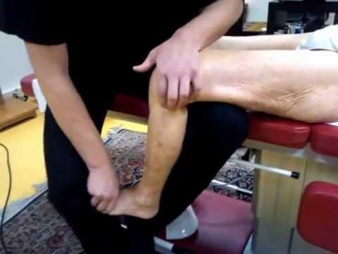 Ostéopathie: Douleur Genou Et Subluxation Tête Fibula (péroné) Antéro-Superieure