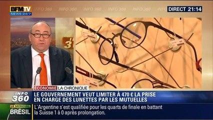 L'Éco du soir: Mutuelle santé: le remboursement des lunettes sera limité à 470 euros - 01/07
