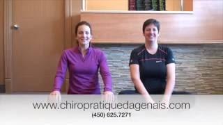 Exercices pour soulager la hernie discale : Chiropratique Dagenais