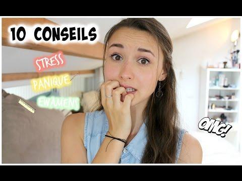 {10 Conseils} - Gérer Le Stress Avant/pendant Les Exams (BAC, Oral...)