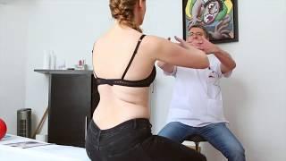 Exercices gymniques de l'épaule après une chirurgie du cancer du sein