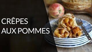 Crêpe diététique aux pommes