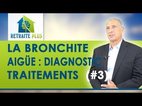 Bronchite : Le Diagnostic Et Les Traitements De La Bronchite Aiguë - Conseils Retraite Plus