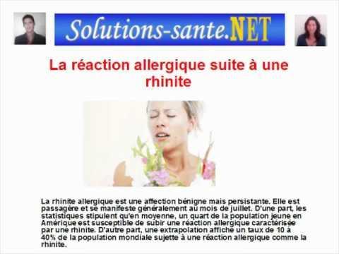 Comment Soigner Une Rhinite Allergique ?