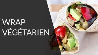 Wrap végétarien