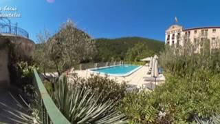 VIDEO EN 360° - MOLITG LES BAINS - DECOUVERTE DE LA CURE THERMALE