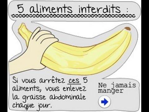 5 Aliments Interdits