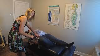 Ajustement d'une femme enceinte - Clinique chiropratique Verreault
