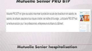 Mutuelle Senior PRO BTP