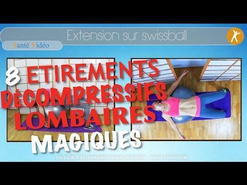 #15 Exercices De Décompression Lombaires Pour Lombalgiques Ou Sciatalgiques