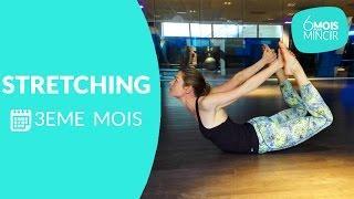 Stretching du dos 3ème mois