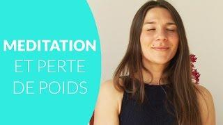 Méditation et perte de poids