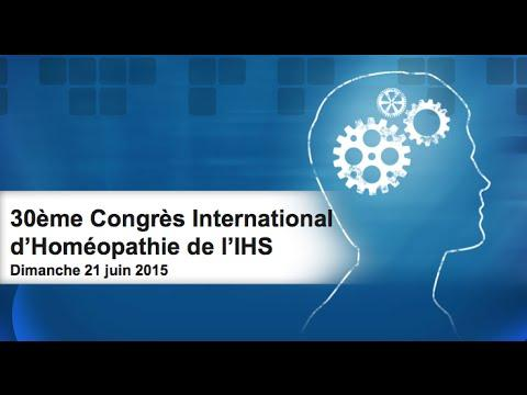 30ème Congrès International D'Homéopathie - Paris 2015