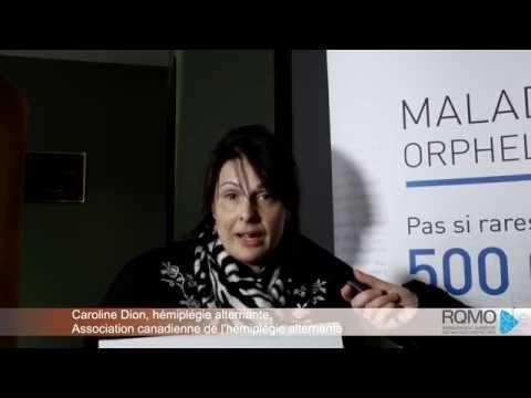 Caroline Dion - Témoignage Sur L'hémiplégie Alternante