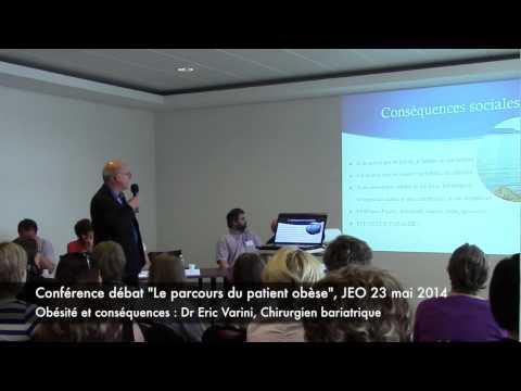 Conférence Débat JEO 2014 Obésité Et Conséquences Dr Eric Varini