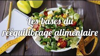 Les bases d'un rééquilibrage alimentaire