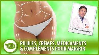 Les médicaments et compléments alimentaires pour maigrir l Conférence Dr Yann Rougier #12