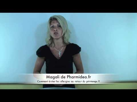 éviter Les Allergies Au Retour Du Printemps | Les Videos Conseils De Pharmidea.fr