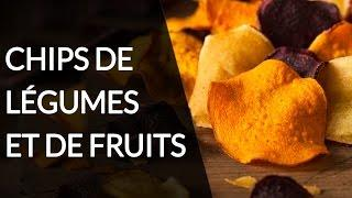 Chips de légumes et de fruits