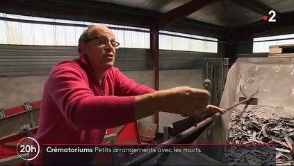 Crématoriums - Le 20h de France 2 a enquêté sur le business de la récupération de métaux : Couronnes