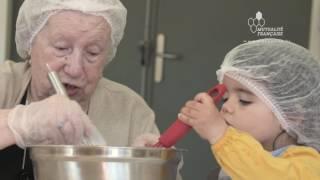 Crèche mutualiste Les Mini-Mômes : tout-petits et seniors savourent le vivre ensemble